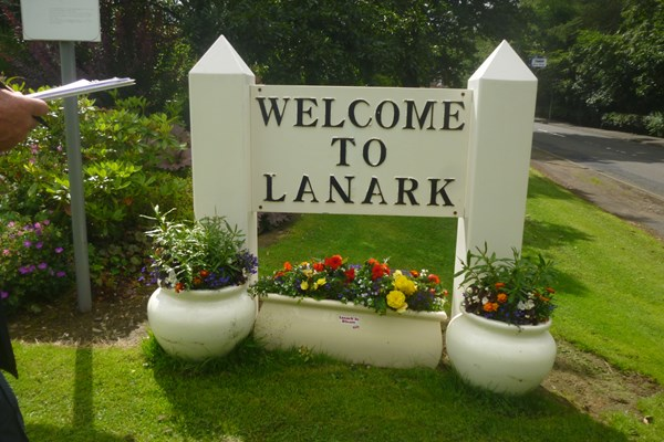Lanark in Bloom