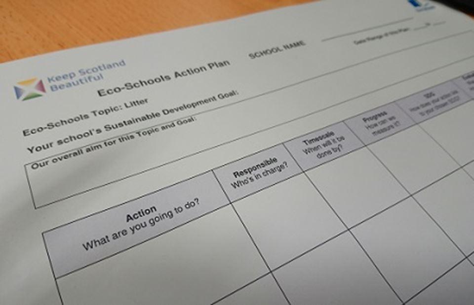 Action Plan Eco Schools Scotland