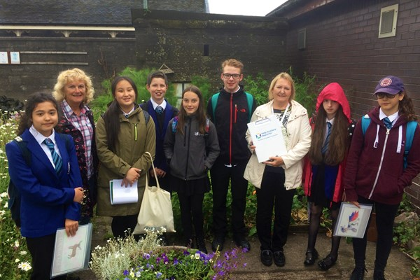 Queen Street - some of the pupils who designed artwork for our Mystical Meadow.jpg