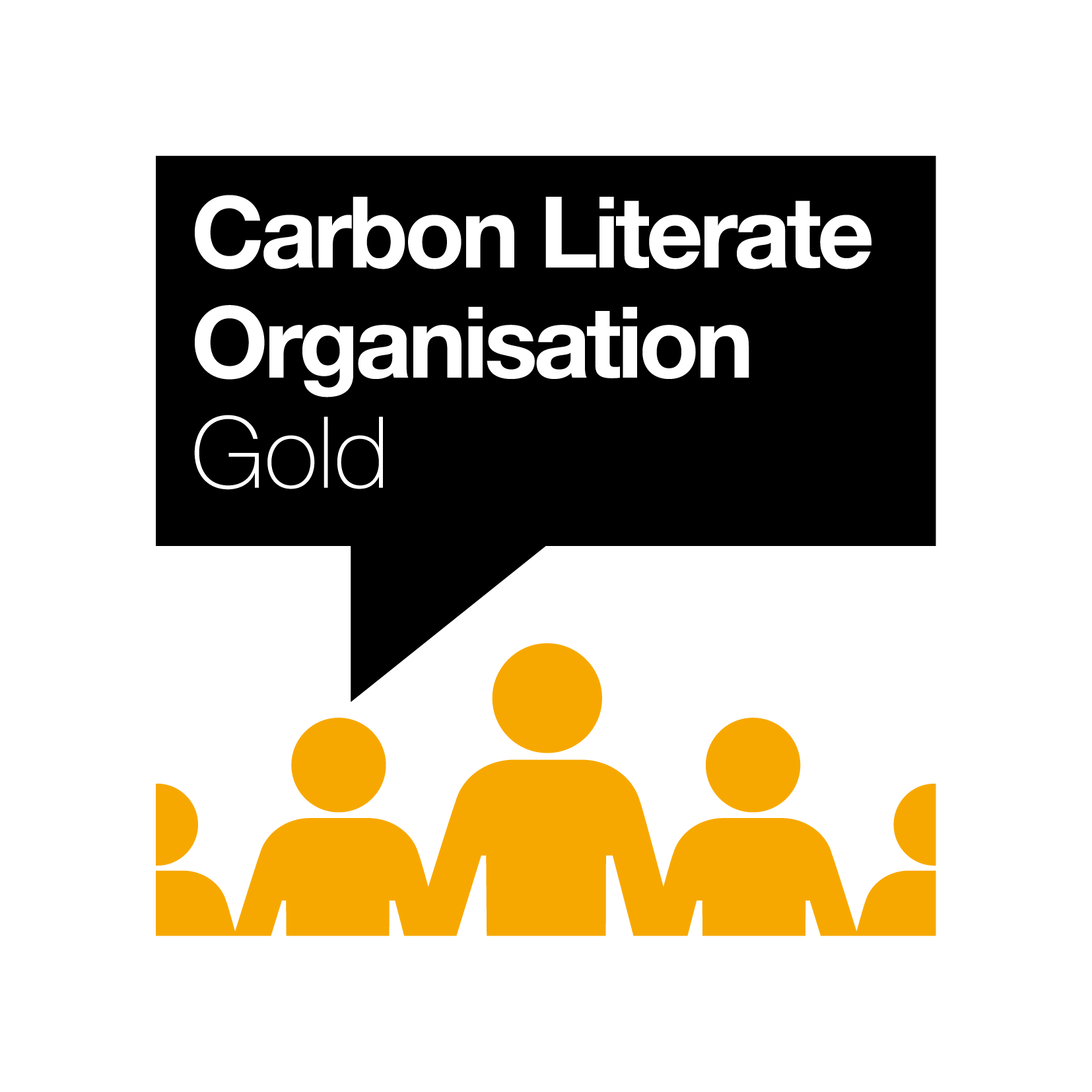 Carbon Literate Organisation (Gold) logo