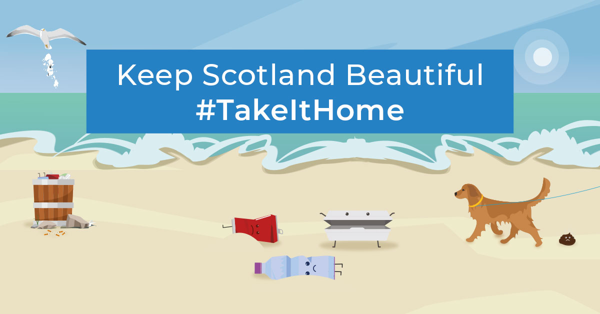 #TakeItHome beach