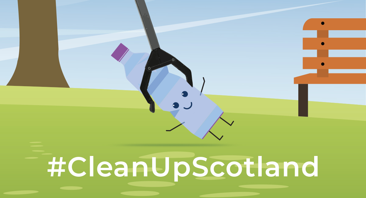 #CleanUpScotland green space
