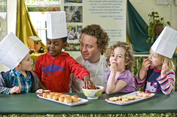 The Children Help Tom Kitchin