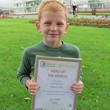 NATIONAL RECOGNITION FOR YOUNG OLIVER'S  ENVIRONMENTAL EFFORTS